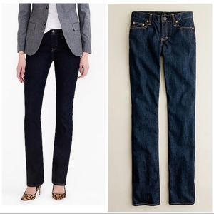 J. Crew Bootcut Jeans Classic Rinse Wash 27S